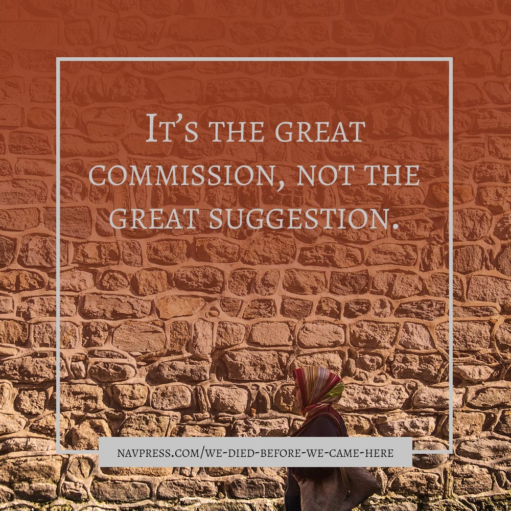 Its the Great Commission