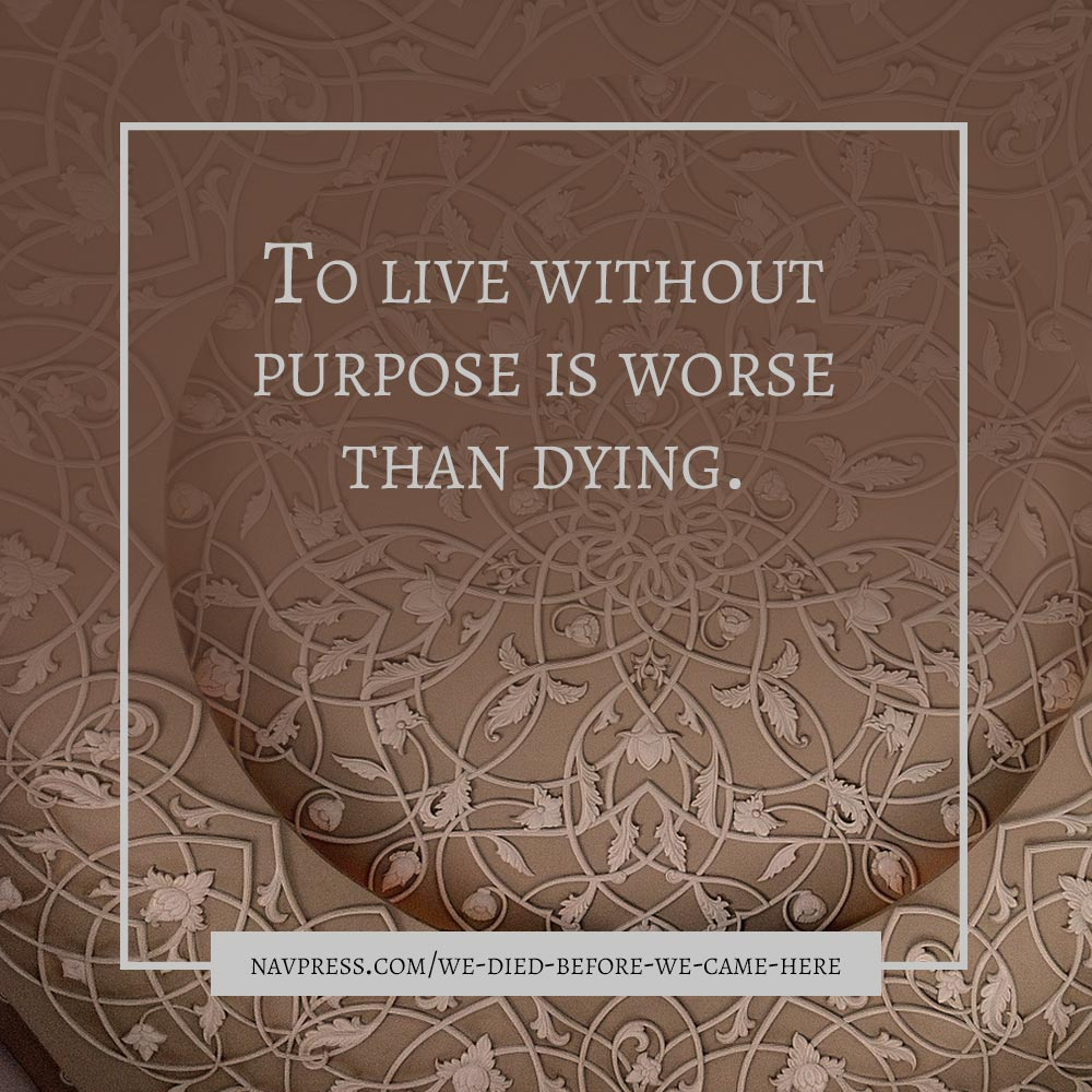 To Live Without Purpose